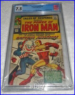 Tales Of Suspense 58 2nd Appearance of Kraven CGC 7.5 Off White White Pages