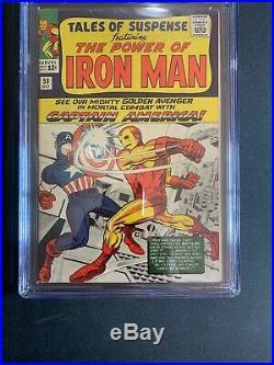 Tales Of Suspense #58 CGC 6.0 Captain America Vs Iron Man 2nd Kraven! Marvel