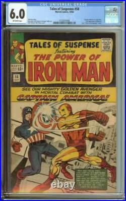 Tales Of Suspense #58 Cgc 6.0 Ow Pages // 2nd Appearance Of Kraven