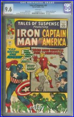 Tales Of Suspense #60 Cgc 9.6 White Pages