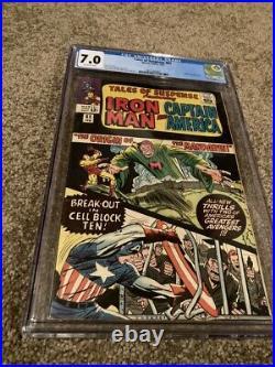 Tales Of Suspense #62 Cgc 7.0 Origin Of The Mandarin-jack Kirby & Ayers Cover