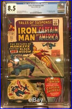 Tales Of Suspense #64 Black Widow Dons Costume Hawkeye Appear Marvel Movie Mcu