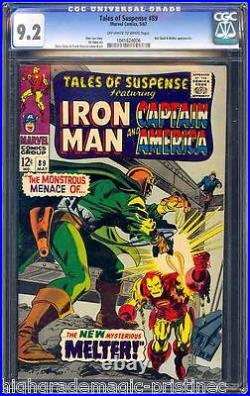 Tales Of Suspense #89 Cgc 9.2 Oww Pages Cgc #1041624006 Ce