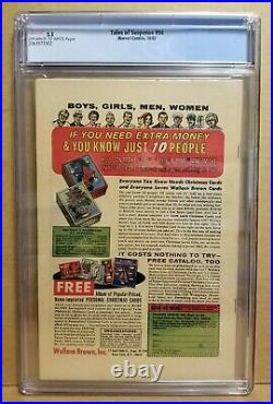 Tales Of Suspense #94 Cgc 5.5 (fn-) 1st Modok Appearance 1967 Hot Key