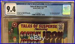 Tales Of Suspense #96 Cgc 9.4 Grey Gargoyle Nick Fury Dum Dum Dugan Appearances