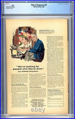 Tales Of Suspense #97 CGC 6.5 (FN+) 1968 1st App Whiplash Silver Age