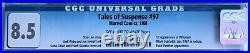 Tales Of Suspense #97 Cgc 8.5 - 1st Whiplash (mark Scarlotti) Black Panther App