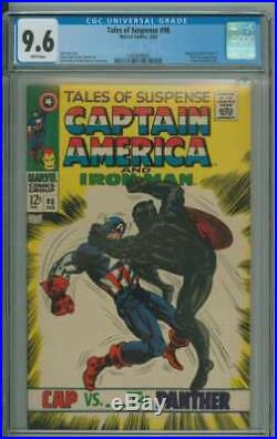 Tales Of Suspense #98 Cgc 9.6 White Pages