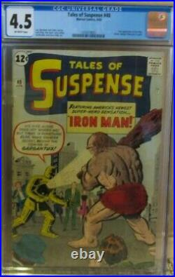 Tales of SUSPENSE #40 CGC 4.5 2nd Appearance Iron Man