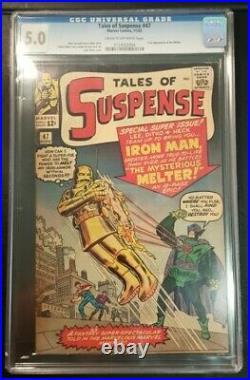 Tales of SUSPENSE #47 CGC 5.0 1st App The Melter Iron Man