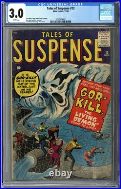 Tales of Suspense #12 CGC 3.0