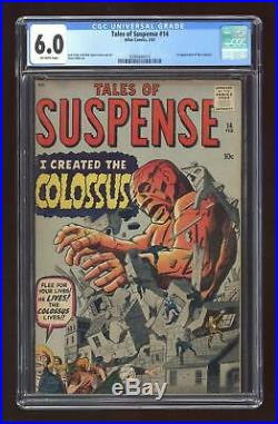 Tales of Suspense #14 1961 CGC 6.0 0294444014