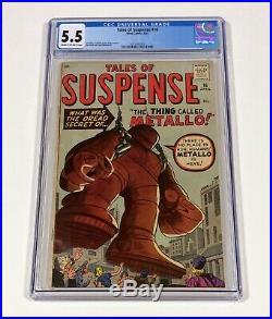 Tales of Suspense #16 CGC 5.5 (Stan Lee, Jack Kirby) Pre-Hero Apr. 1961 Atlas