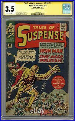 Tales of Suspense (1959) 44 CGC 3.5 SS Stan Lee 1286699001