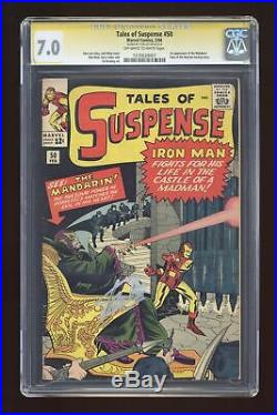 Tales of Suspense (1959) 50 CGC 7.0 SS Stan Lee 1235639007