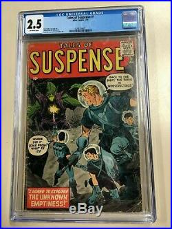 Tales of Suspense #1 1959 CGC 2.5 Off-White Pages Atlas Key
