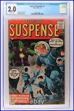 Tales of Suspense #1 Atlas 1959 CGC 2.0