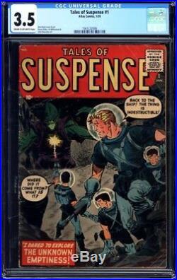 Tales of Suspense #1 CGC 3.5