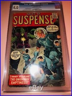Tales of Suspense #1 CGC 4.0 Silver Age Key Steve Ditko Art