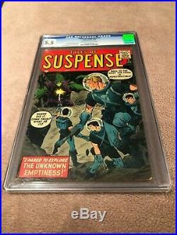 Tales of Suspense #1 (CGC 5.5) Unrestored 1959