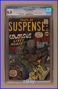 Tales of Suspense #20 CGC 6.0 1961 0230418015