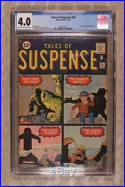Tales of Suspense #28 1962 CGC 4.0 0342462013