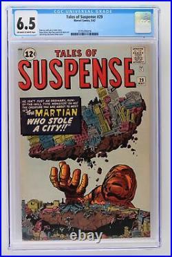 Tales of Suspense #29 Marvel 1962 CGC 6.5
