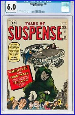 Tales of Suspense #31 (Jul 1962, Marvel Comics) CGC 6.0 FN Iron Mask