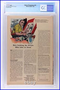 Tales of Suspense #31 Marvel 1962 CGC 6.5