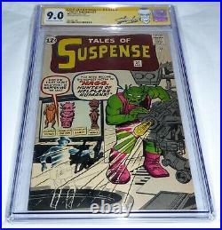 Tales of Suspense #37 CGC SS 9.0 Signature Autograph STAN LEE Silver Age Comic
