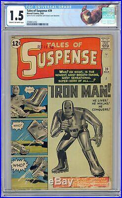 Tales of Suspense #39 1963 CGC 1.5 2048832002