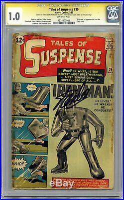Tales of Suspense #39 CGC 1.0 SS 1963 1234307002 1st app. Iron Man