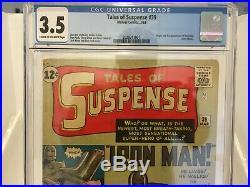 Tales of Suspense #39 CGC 3.5