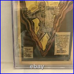 Tales of Suspense #39 CGC NG Coverless 1st app. Iron Man Lee Lieber Marvel 1963
