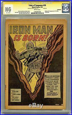 Tales of Suspense #39 CGC NG Coverless SS 1196085006 1st app. Iron Man