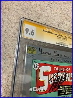 Tales of Suspense 39 CGC SS TOS SIGNED By Stan Lee Marvel Milestones Reprint