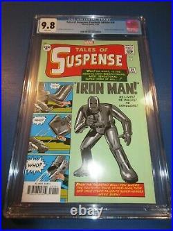 Tales of Suspense #39 Facsimile Reprint 1st Iron Man CGC 9.8 NM/M Gorgeous gem