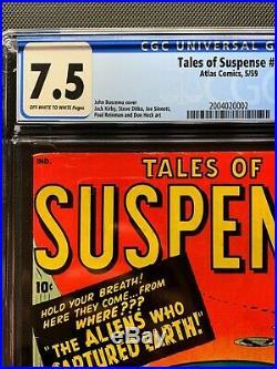 Tales of Suspense #3 CGC 7.5 Atlas Marvel Ditko, Kirby, Sinnott, Buscema, Heck