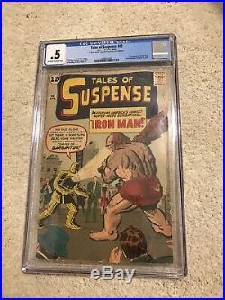 Tales of Suspense #40 (1963) 2nd Iron Man! CGC 4.5 1st Gold Armor