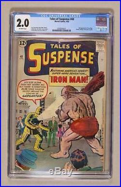 Tales of Suspense #40 1963 CGC 2.0 0358303021