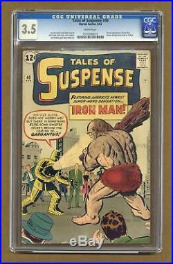 Tales of Suspense #40 1963 CGC 3.5 0130399013