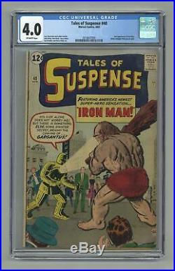 Tales of Suspense #40 1963 CGC 4.0 2018647003
