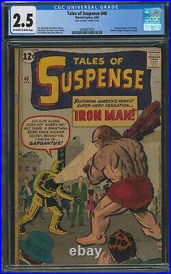 Tales of Suspense #40, 2nd Appearance of Iron Man