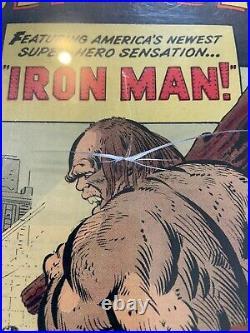 Tales of Suspense #40 2nd app Iron Man CGC 7.0