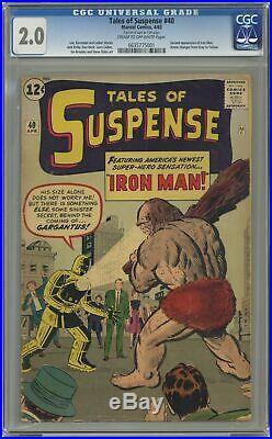 Tales of Suspense #40 CGC 2.0 1963 0635775001