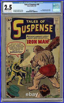 Tales of Suspense #40 CGC 2.5 1963 3696238021