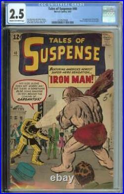 Tales of Suspense #40 CGC 2.5 2nd App Iron Man