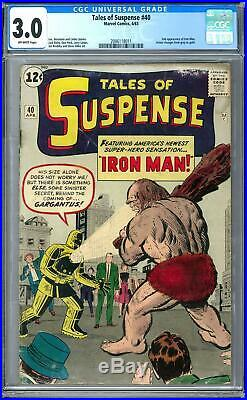 Tales of Suspense #40 CGC 3.0 (OW) 2nd Appearance of Iron Man