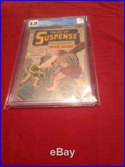 Tales of Suspense #40 CGC 5.0 Marvel Comics, 2nd App of Iron Man & 1st G Armor