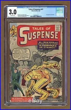 Tales of Suspense #41 1963 CGC 3.0 1448456017